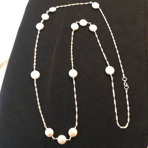 Jewelry - SS Coin pearl necklace